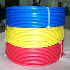 House Wire Low Voltage Power Cable Solid / Stranded Copper Conductor ...