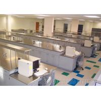 Medical Laboratory School Science Furniture , Phenolic Resin Worktop Electronics Lab Bench