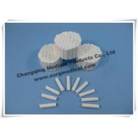 Absorbent Disposable Medical Cotton Roll , Plain Wrapped Dental Disposable Products