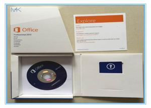 China English Version Microsoft Office 2013 Product Key Card Retail Box DVD on sale