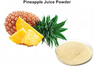 China Fresh Pineapple Fruit Juice Powder Beverage Additive Into The Metabolism And Eliminate Fatigue on sale