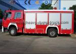 12000L 8000L Howo brand New 4X2 6X4 Fire Fighting Water and Foam Fire Truck