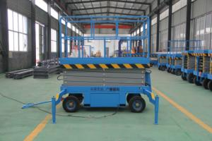 China Professional  Electric Auto Scissor Lift Hydraulic Scissor Lift With Battery on sale