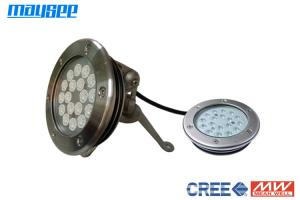 China High Power RGB LED Pool Light IP68 , 54W LED Swimming Pool Lights , 316L stainless steel, on sale