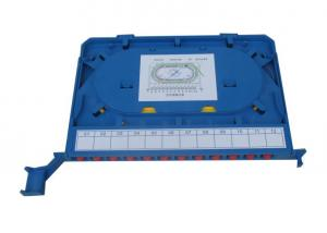China 12port Fiber Optic Distribution Box , Welding Distribution Module Tray for ODF Unit Box on sale