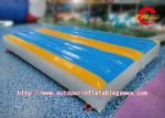 China Professional Flexible Inflatable Gymnastics Mat For Kids Tumbling , School Activities wholesale