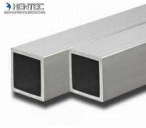 China Powder Coating 6061 t6 aluminum extrusion , aluminum square tubing on sale