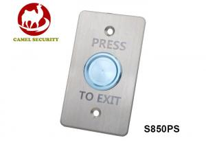 China Piezoelectric Door Exit Push Button Electrical Switches 1 Million Tested on sale