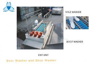 China Máquina da limpeza comercial da máquina e da sapata da limpeza da bota SS304 a única escova a ferramenta para a farmácia on sale