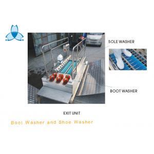 商業SS304ブーツのクリーニングの機械および靴の唯一のクリーニング機械は薬学のための用具にブラシをかけます