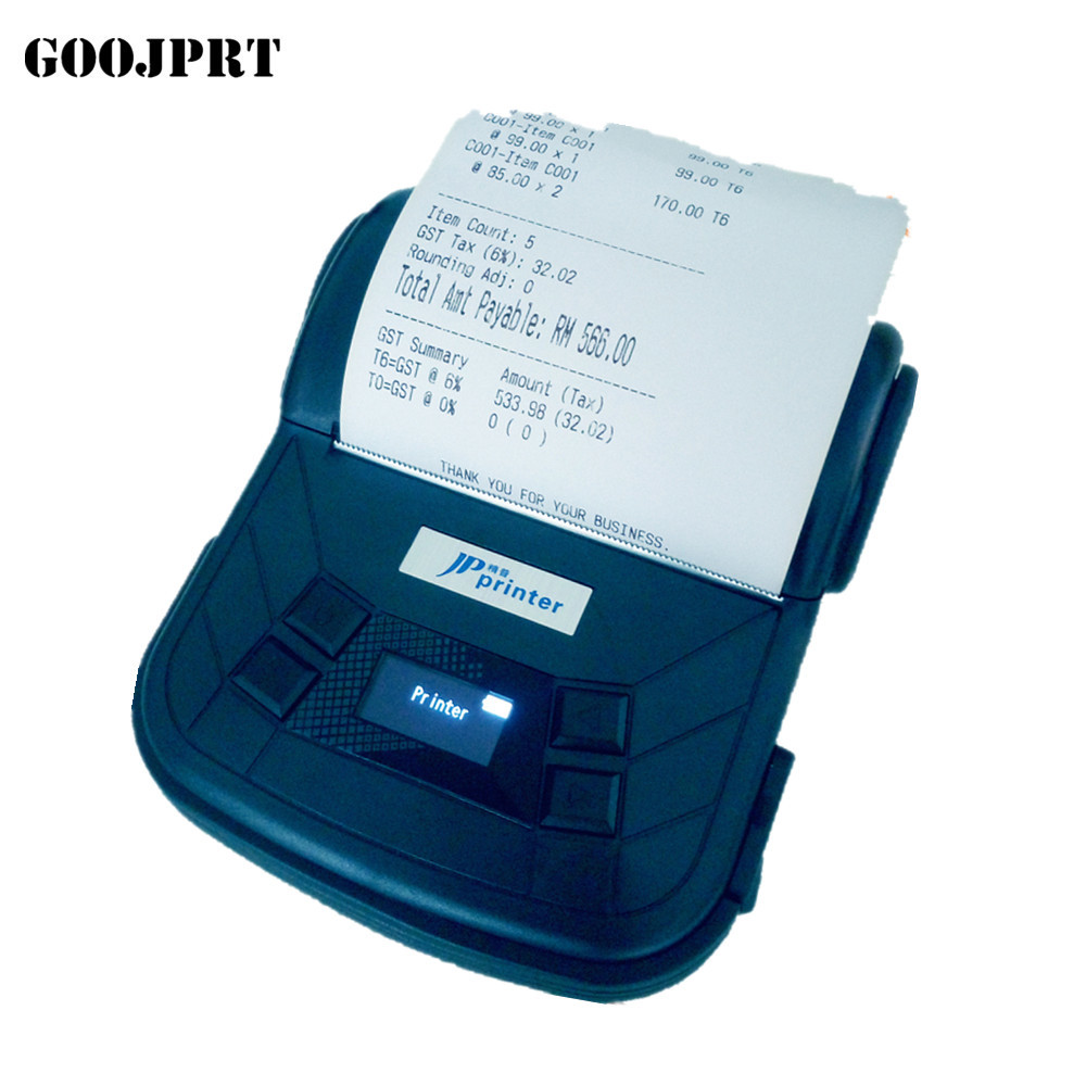 3 inch wifi portable Bluetooth Printer Thermal Receipt