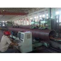 Large Diameter LSAW Welded Steel Pipes with 3LPE,FBE,Cement coating,OD406-1420mm,WT8-100mm.