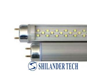 China Aluminum alloy shell with PC cover 1200mm / 12W / SMD 3528 / 216pcs LED T8 tube light on sale