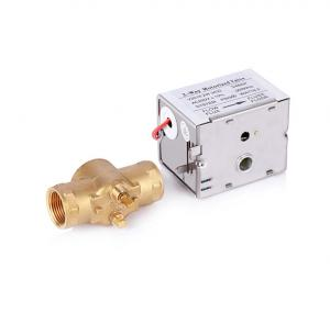 China Female Thread Central Heating Diverter Valve For Building Automation System on sale