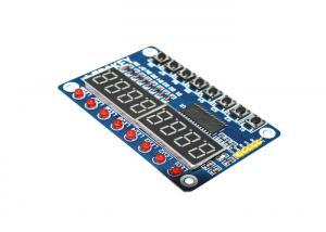China 0.24A Digital LED Tube Arduino Development Board TM1638 8 Bit LED Display Module on sale