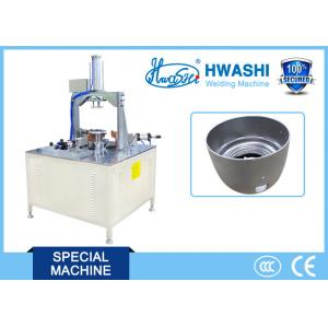 China Electric Rice Cooker Pot Three Points Automatic Welding Machine CE / CCC / ISO on sale