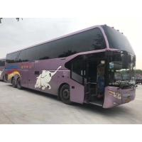 Used Rear / Bach Double Axles Bus ZK6147 67 Seats Left Hand Drive Yutong 2012 Year