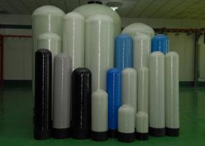 China 150psi inline Home Water Softener Filter FRP Fiberglass Pressure Tank Vessel on sale