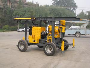 China hydraulic rotary core drill rig on sale