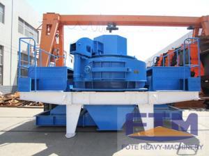 China Mining silica sand vertical shaft making machine on sale