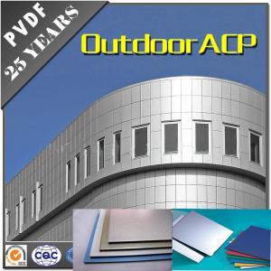 Top high quality 4mm Alucobond matte series PVDF Aluminum