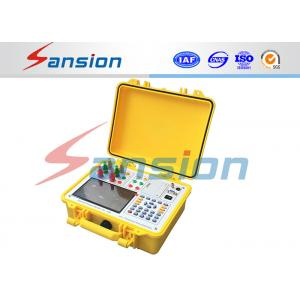 China Fully Automatically Transformer Test System , 100% Accuracy Transformer Capacity Tester on sale