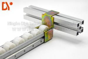 China White / Yellow Metal Roller Track Recycling Anti Corrosion Long Service Life on sale