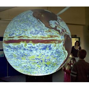 China 0.8 dia meter digital sphere/spherical display/entertainment sphere display/ eye fihs lens on sale