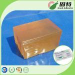 Прилипатель Мельт желтой и полу-прозрачной смолы полимера блока СБС солСынтетик горячий упаковывая для срочного поверхностного запечатывания