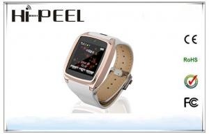 China Single SIM Card Quad Band Watch Phone Support Music Player Bluetooth Camera on sale