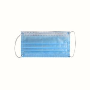China Disposable Medical Face Masks Breathable 3 Ply Dust Mask Environment Friendly on sale