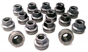 China Carbon Steel Wheel Lug Nuts 21 Millimeter , Stable Ford Oem Lug Nuts M14 X 2 on sale