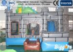 China Dinosaur 0.55mm PVC Commercial Inflatable Castle / Combo For Kids wholesale