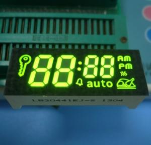 China Green 7 Segment Display Common Cathode for Timer Control Customized on sale