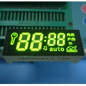 China Green Common Cathode 7 Segment LED Display Super Bright for Timer Control Customized on sale