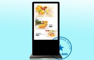China 65 Floor Standing Advertising Digital Signage English German , Villa / Theater Video LCD Display on sale