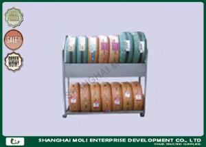 China Grocery store ,retail car tire storage rack on wheels for display / tire shelves on sale