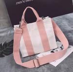 Wholesale Creative Eco-friendly Cotton Canvas Tote Cross-body Bag