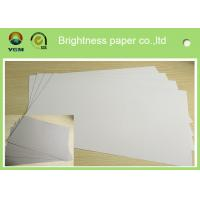 Mixed Pulp Duplex Paper Board White Back For Printing Bag Anti Curl