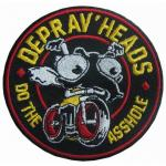 Customize High Quality Moto Biker Embroidery Patches Clothes Iron on Patch