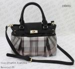 Beautiful Tote / Crossbody Women Fashion Bags For Lady With Checked Patterns
