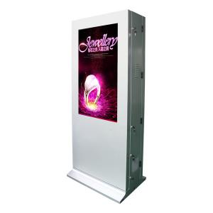 China Wireless Wifi Stand Alone Digital Signage With Air - Conditioner , Floor Standing Touch Screen Kiosk on sale