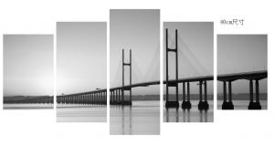China Anti Dust Canvas Prints Wall Art Bridge Pattern CV0004 ISO Approved on sale