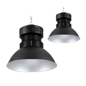China SMD Aluminum High Bay LED Warehouse Lighting 50w 100w 150w 200w In Black on sale