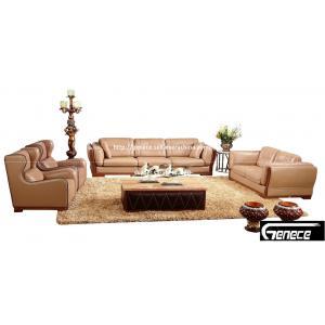 China Imported Leather Office Sofa Set 4+2+1+1 Hotel Lobby Sofa on sale
