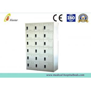China Steel Or Iron Metal Medical Cabinet Hospital Equipment Wardrobe Cabinet With Locks (ALS-CA006) on sale