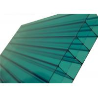 Colored Triple Polycarbonate Sheets ,Clear Polycarbonate PanelsFor Skylight Roofing