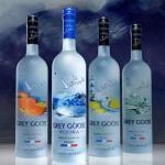 Vodka - litre X de Grey Goose 1,0 caisse de 6 bouteilles