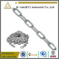 China Stronger specilization manufacturer industrial welded steel chain on sale