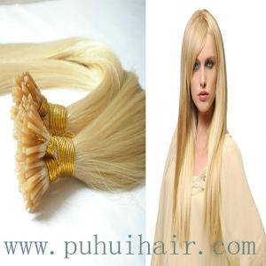 China 2013 Superior Brazilian human hair extension/pre bonded hair extension on sale